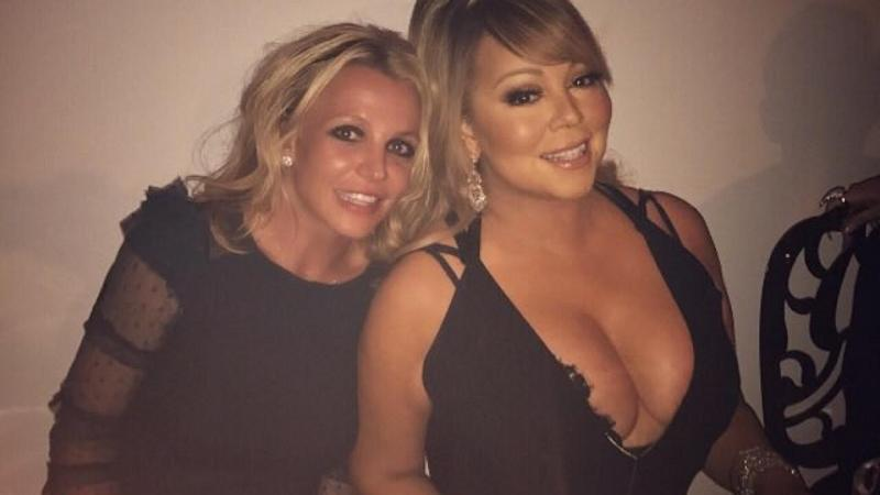 Britney Spears and Mariah Carey Hanging Out Together Has Fans Going Crazy!