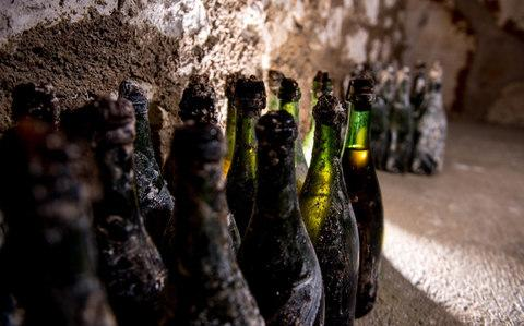 Pol Roger has excavated some long-lost treasure from the wreckage of a cellar that collapsed in 1900 and buried more than a million bottles of Champagne. - Credit: Michael BOUDOT - www.mkb.photos