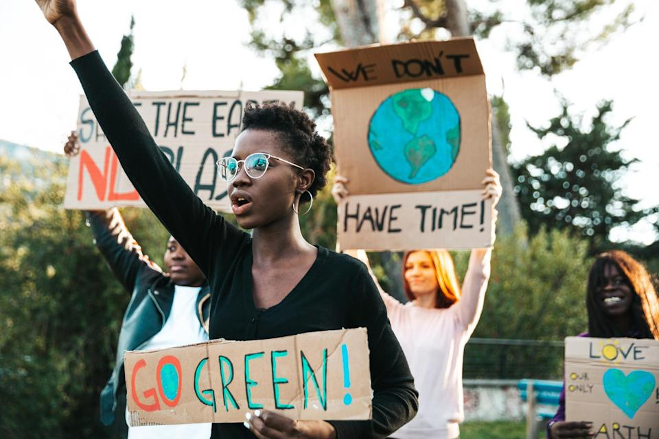 youth climate protest (LeoPatrizi/ E+/ Getty Images)