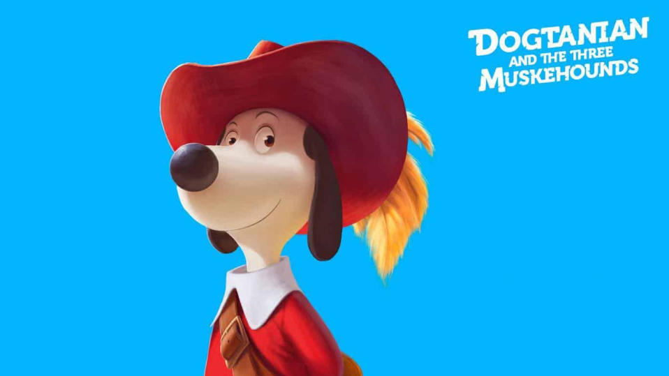 Dogtanian in 'Dogtanian and the Three Muskehounds'. (Credit: Cosmos-Maya)