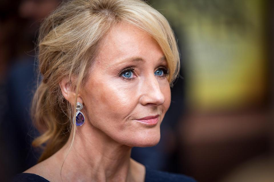 J.K. Rowling attends the press preview of <em>Harry Potter and the Cursed Child</em> at the Palace Theatre in London in 2016. (Photo: Rob Stothard/Getty Images)