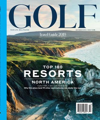 The October issue of GOLF Magazine features the inaugural Top 100 Resorts in North America rankings.