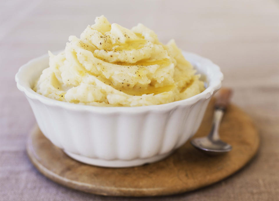 A mum has revealed her 'cheat' hack for making perfect mash potato [Photo: Getty]