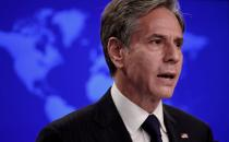 FILE PHOTO: U.S. Secretary of State Antony Blinken deliver remarks to the press on Afghanistan