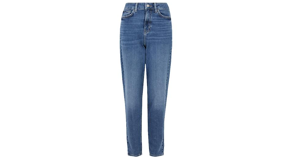 Mom High Waisted Jeans with Stretch