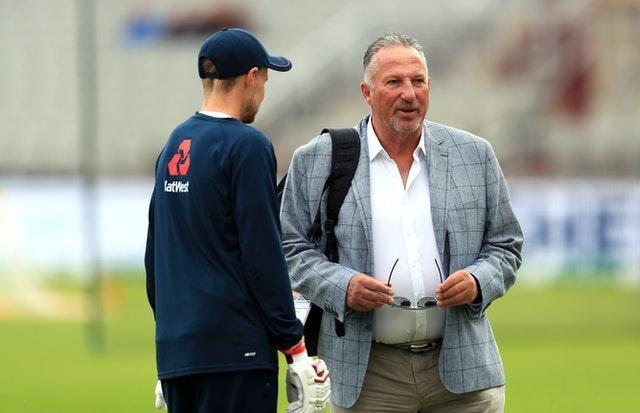 Botham hopes his grandad Ian (right) will back him even against England