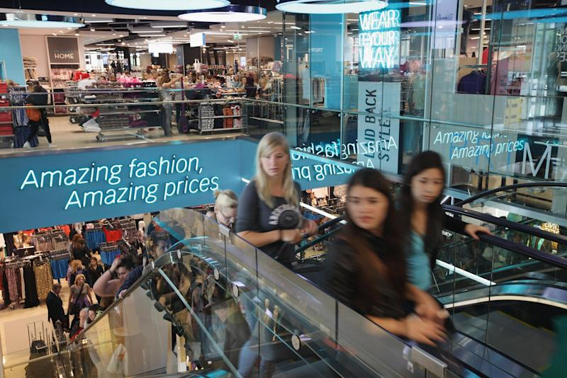 Shoppers crowd a Primark clothing store a day after the store's opening on July 12, 2012 in Berlin (Getty Images )