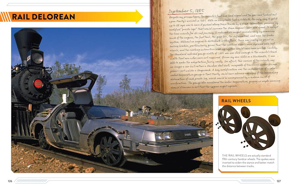 """An excerpt from """"Back to the Future: DeLorean Time Machine: Doc Brown's Owners' Workshop Manual"""" by Bob Gale  and Joe Walser, which will be released by Insight Editions on March 30."""