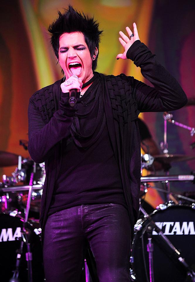 """It's not quite performing for royalty, but """"Idol"""" runner-up Adam Lambert (seen here in New York) has been invited to perform on the season finale of """"So You Think You Can Dance."""" The singer, who appeared on """"The View"""" this week, will perform """"Whataya Want From Me"""" on the December 16 show. Bryan Bedder/<a href=""""http://www.gettyimages.com/"""" target=""""new"""">GettyImages.com</a> - December 8, 2009"""