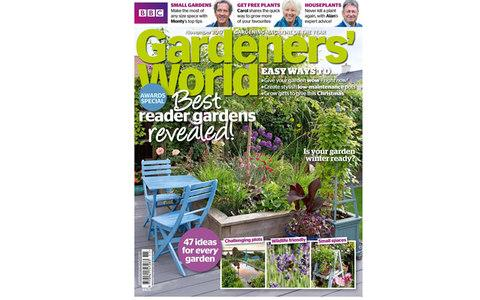 Gardener's World - Credit: BBC Gardener's World Magazine
