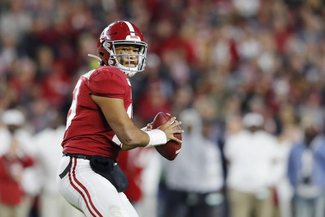 If Tua Tagovailoa receives positive medical feedback, it could help a lot of teams, including the Detroit Lions. (Photo by Kevin C. Cox/Getty Images)