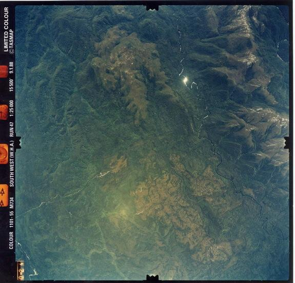 Australia's Darwin Crater. The crater is reportedly challenging to reach, situated in the middle of a lush forest. The crater is reportedly challenging to reach, situated in the middle of a lush forest.