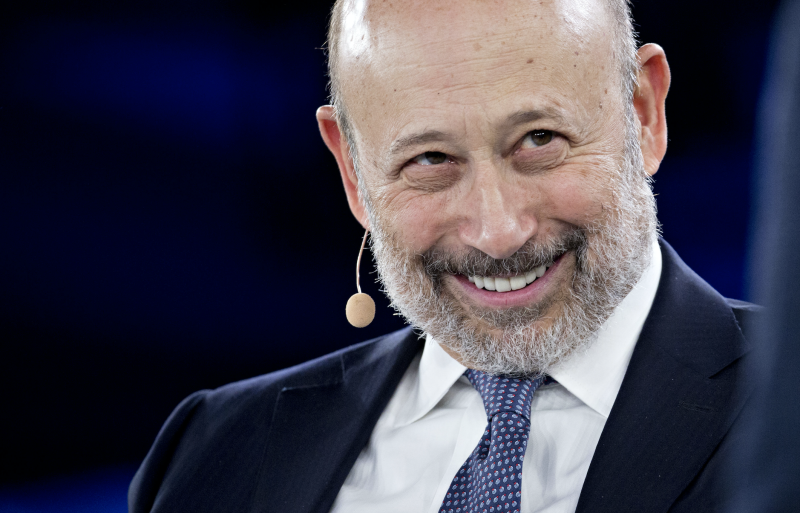 Lloyd Blankfein, smiles during a discussion at the Goldman Sachs 10,000 Small Businesses Summit in Washington, D.C., U.S., on Tuesday, Feb. 13, 2018. (Photo: Andrew Harrer/Bloomberg via Getty Images)