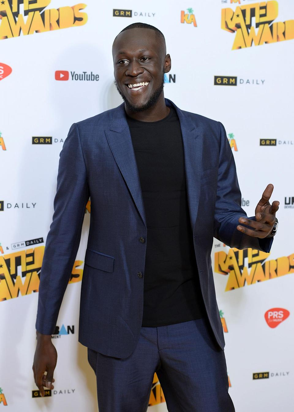 <p>The Waiting Room, where Stormzy - pictured - has played is among the venues at risk</p>Getty Images