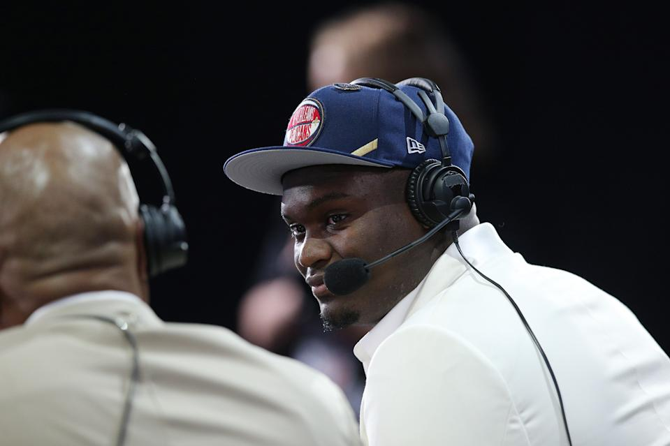Nobody drafts Zion Williamson and comes up a loser on draft night. (Reuters)