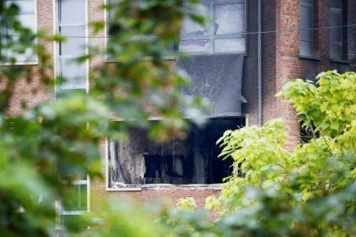 Belgium arrests five suspects after crime lab blast