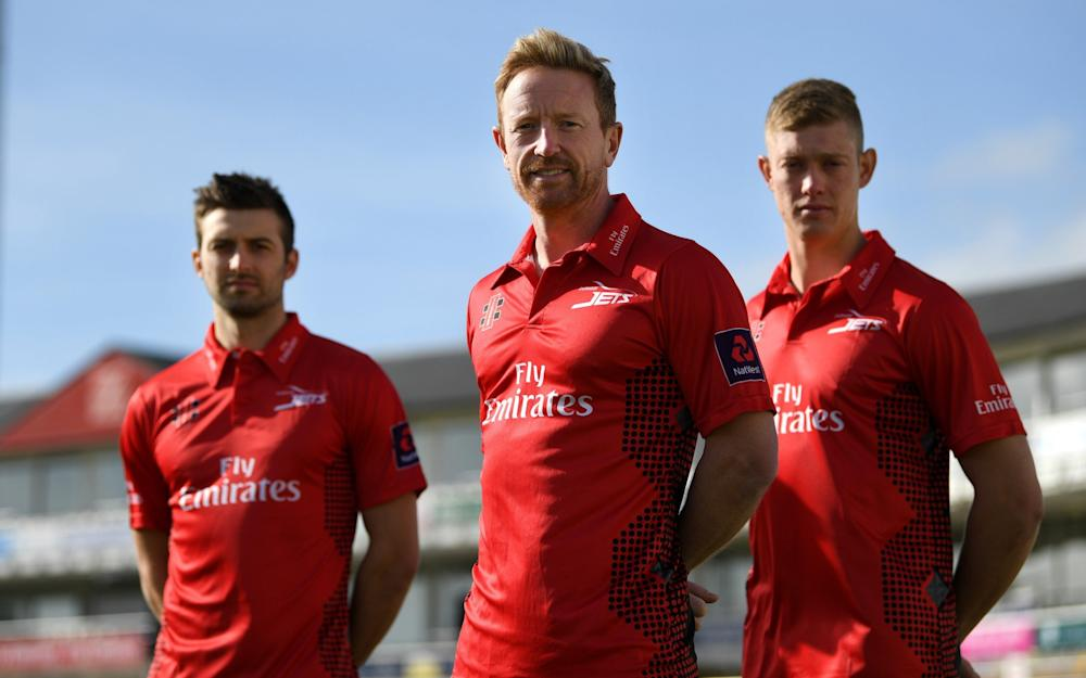 Mark Wood, Paul Collingwood and Keaton Jennings - Credit: GETTY IMAGES
