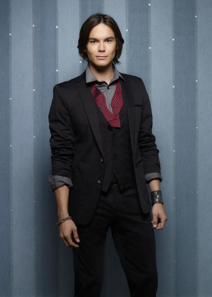 "Tyler Blackburn stars as Caleb Rivers on ABC Family's ""Pretty Little Liars."""