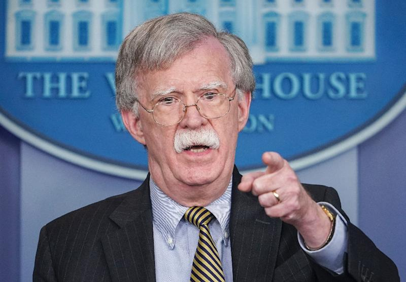 US's Bolton says more sanctions likely on Iran