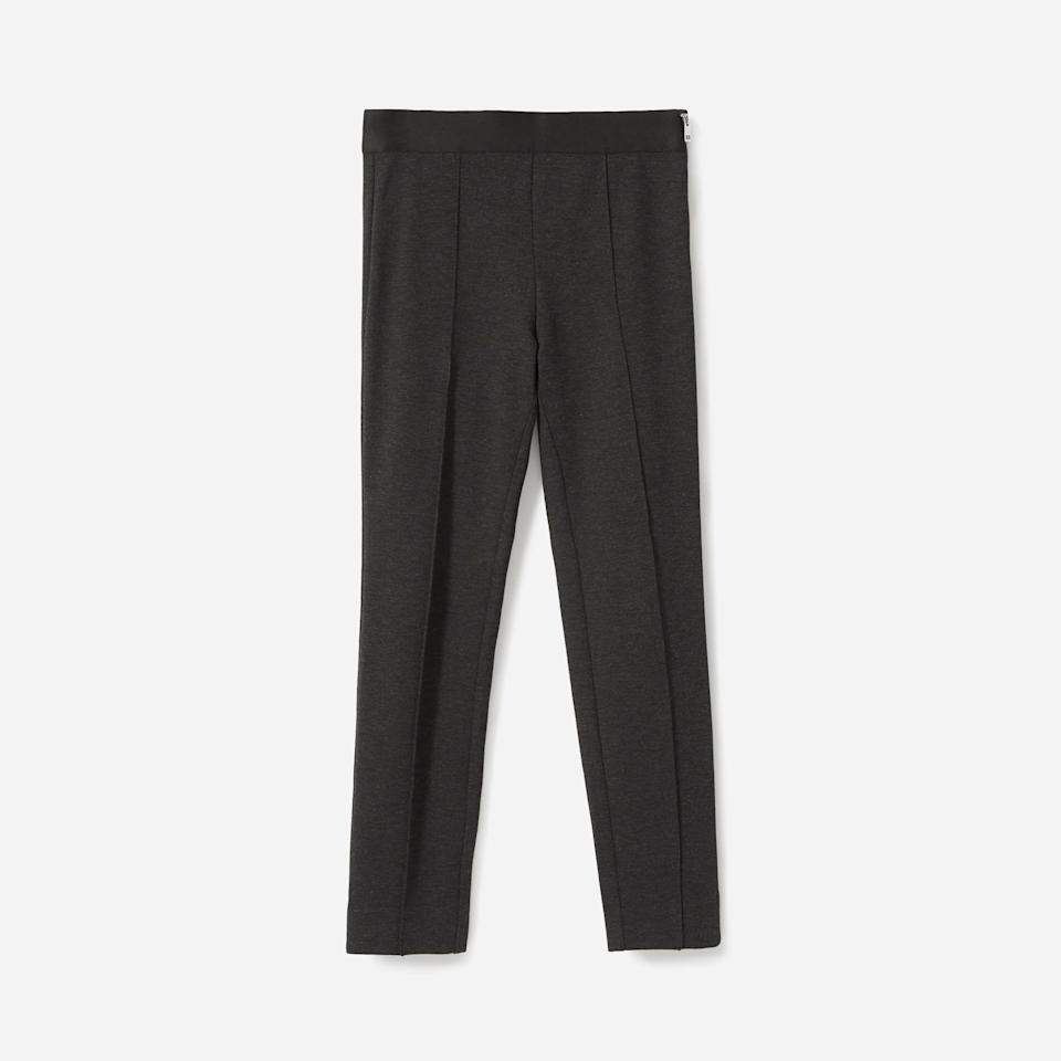 """<p><strong>Everlane</strong></p><p>everlane.com</p><p><a href=""""https://go.redirectingat.com?id=74968X1596630&url=https%3A%2F%2Fwww.everlane.com%2Fproducts%2Fwomens-stretch-ponte-crop-pant-charcoal&sref=https%3A%2F%2Fwww.harpersbazaar.com%2Ffashion%2Ftrends%2Fg37038622%2Feverlane-summer-sale-best-items%2F"""" rel=""""nofollow noopener"""" target=""""_blank"""" data-ylk=""""slk:Shop Now"""" class=""""link rapid-noclick-resp"""">Shop Now</a></p><p><strong><del>$78</del> $39</strong></p><p>Until the debate over leggings as pants comes to a definitive end, a ponte pant is comfortable middle ground. </p>"""