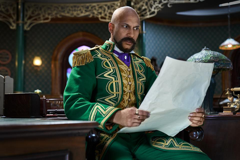 Keegan-Michael Key as Gustafson (Gareth Gatrell/Netflix)