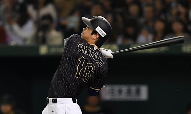 Shohei Ohtani, 23, is an intriguing two-way prospect. (AP).