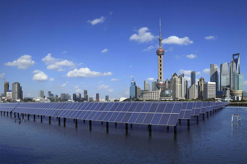 china solar energy shanghai panels