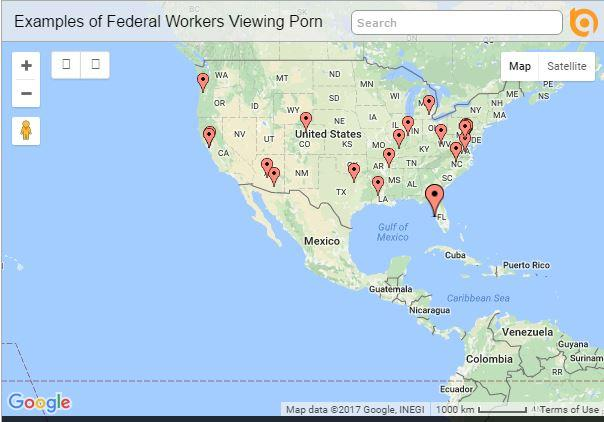 Federal Workers Viewing Porn