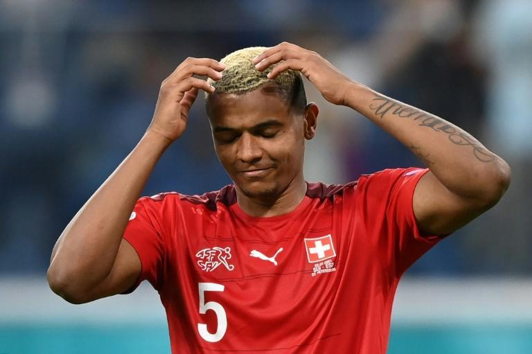 Manuel Akanji was one of three Swiss players who failed to score in the penalty shoot-out