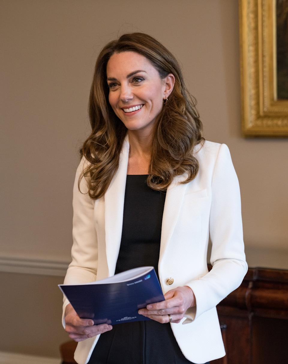 "The <a href=""https://ca.search.yahoo.com/search?p=KateMiddleton&fr=fp-tts&fr2"" data-ylk=""slk:Duchess of Cambridge"" class=""link rapid-noclick-resp"">Duchess of Cambridge</a> has been hard at work during 2020 as one of the most visible members of the Royal Family during the COVID-19 crisis. Middleton spearheaded ""Hold Still,"" a photography initiative which encouraged people across the United Kingdom to submit photos of life during the pandemic. In addition to holding virtual meetings with frontline healthcare workers and teachers, the Duchess has been privately calling isolated pensioners as part of a program that helps support senior citizens in quarantine. ""I will treasure our conversations for the rest of my life,"" Len Gardner who spoke with the Duchess told <a href=""https://www.thesun.co.uk/news/13401909/kate-middleton-volunteer-covid-calls-lonely-carer/"" rel=""nofollow noopener"" target=""_blank"" data-ylk=""slk:The Sun"" class=""link rapid-noclick-resp""><em>The Sun</em></a>. ""Those calls helped me because they gave me something to look forward to."" (Image via Kensington Royal)"