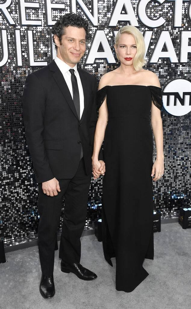 Thomas Kail, Michelle Williams, 2020 Screen Actors Guild Awards, SAG Awards, Couples