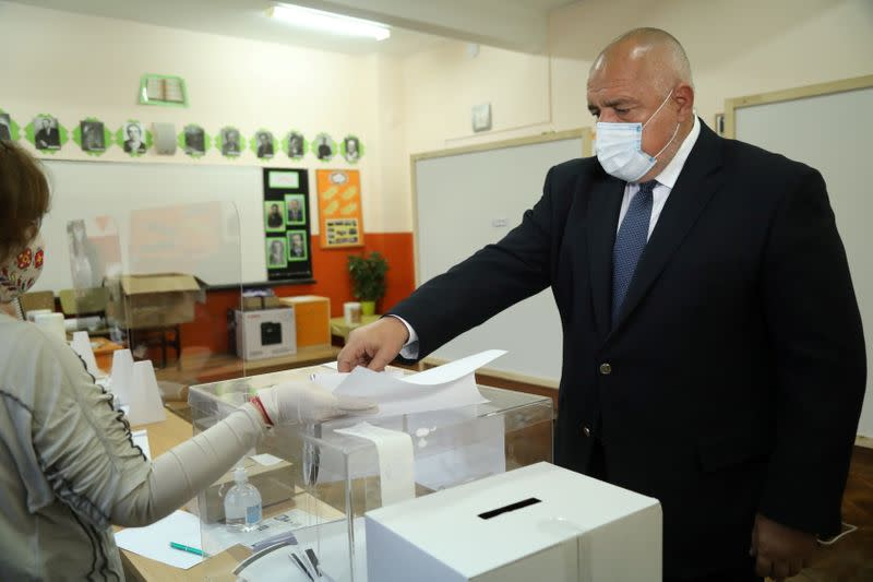 Parliamentary election in Sofia