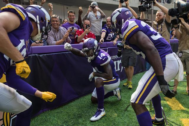 Vikings Offense Dominates Bucs Instant Reactions