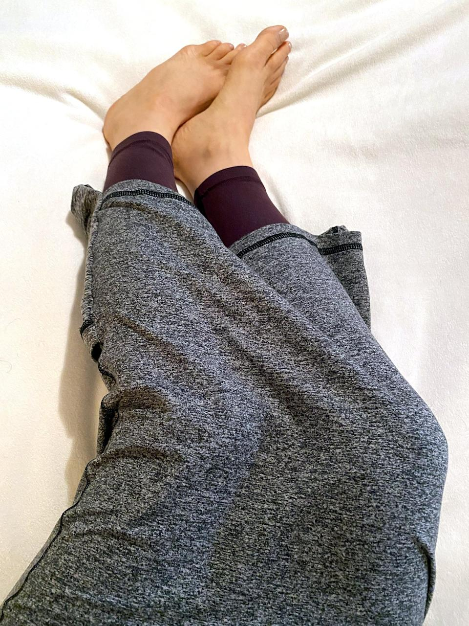 <p>If you're the type of sleeper who loves feeling super cozy in PJS under a blanket, you'll love the Hug Sleep Pod. It just feels so nice to be hugged by this stretchy fabric; it feels like a form of self-care. And coupled with the self-care of getting enough sleep, this is one of the best products for supporting self-care I've ever used. </p> <p>I will say that if you share your bed with someone, wearing a Hug Sleep Pod Move doesn't exactly send the sexiest message. It could get in the way of intimacy because after you pull it on, and you feel instantly calm and sleepy, you won't want to pull it off! Your partner may not appreciate that, but that just may mean you need to order one for them, too!</p>