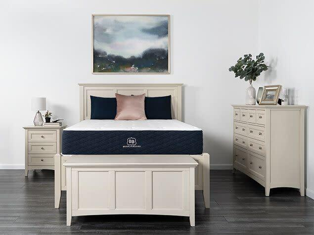 "From Black Friday to Cyber Monday, <a href=""https://fave.co/33vobMm"" rel=""nofollow noopener"" target=""_blank"" data-ylk=""slk:Brooklyn Bedding's offering 20% off sitewide"" class=""link rapid-noclick-resp""><strong>Brooklyn Bedding's offering 20% off sitewide </strong></a>. So you can choose between the brand's different mattresses, like <a href=""https://fave.co/2K3cTHE"" rel=""nofollow noopener"" target=""_blank"" data-ylk=""slk:this popular Signature"" class=""link rapid-noclick-resp""><strong>this popular Signature</strong> </a> or <strong><a href=""https://fave.co/2rjbYMr"" rel=""nofollow noopener"" target=""_blank"" data-ylk=""slk:the Aurora"" class=""link rapid-noclick-resp"">the Aurora</a></strong>&nbsp;so you can finally feel like Sleeping Beauty."