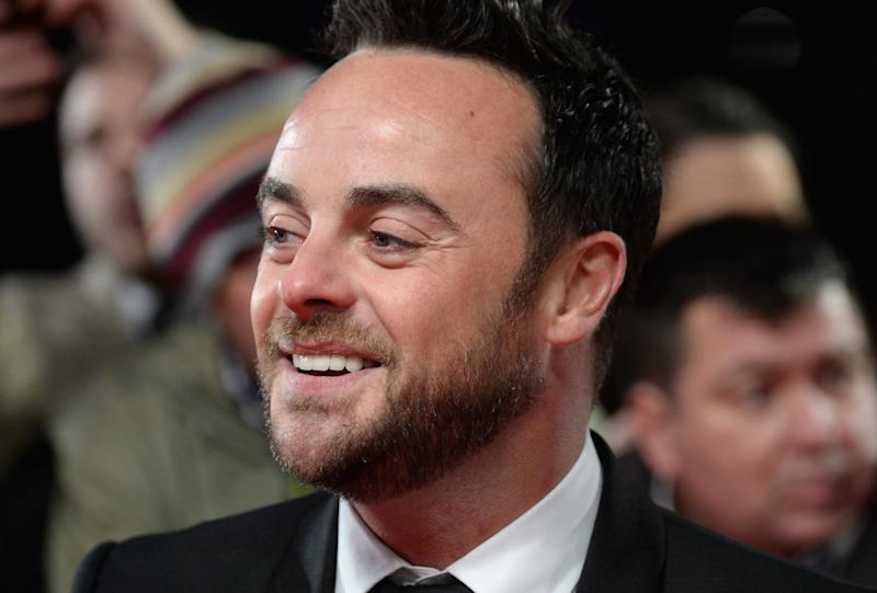 Ant McPartlin of the duo Ant & Dec: Getty