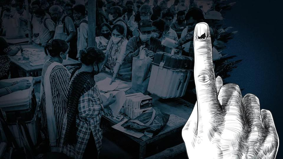 Counting of votes begins for four states and one UT