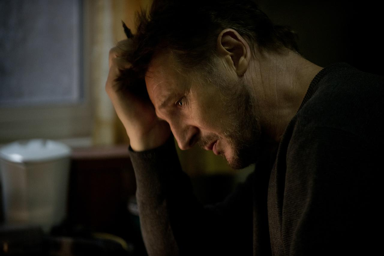 "Liam Neeson in Open Road Films' ""<a href=""http://movies.yahoo.com/movie/the-grey/"">The Grey</a>"" - 2012"