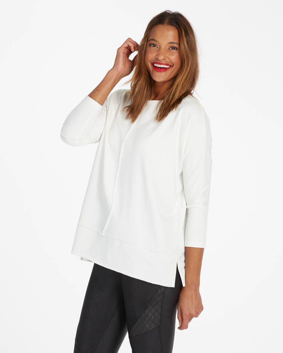 Perfect Length Top, Dolman 3/4 Sleeve - Spanx.