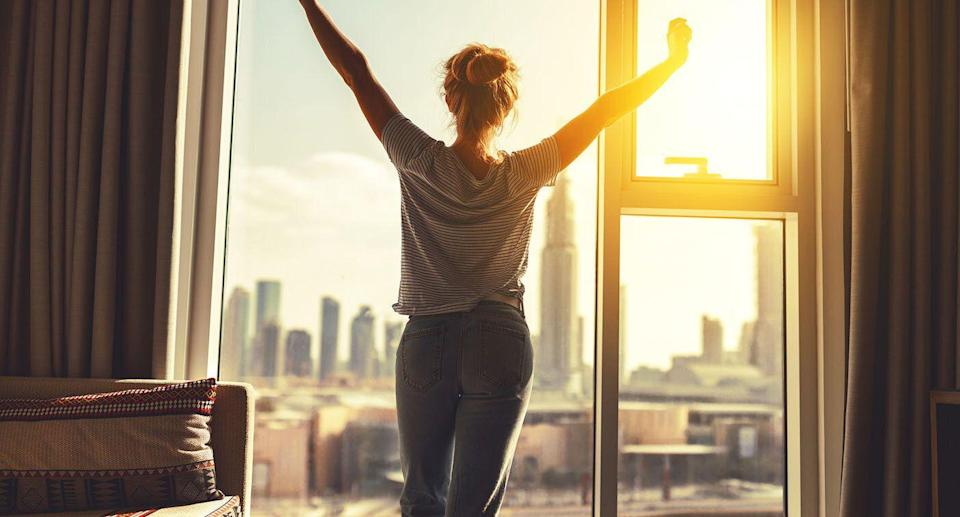 Make simple changes to turn yourself into a morning person. [Photo: Getty]