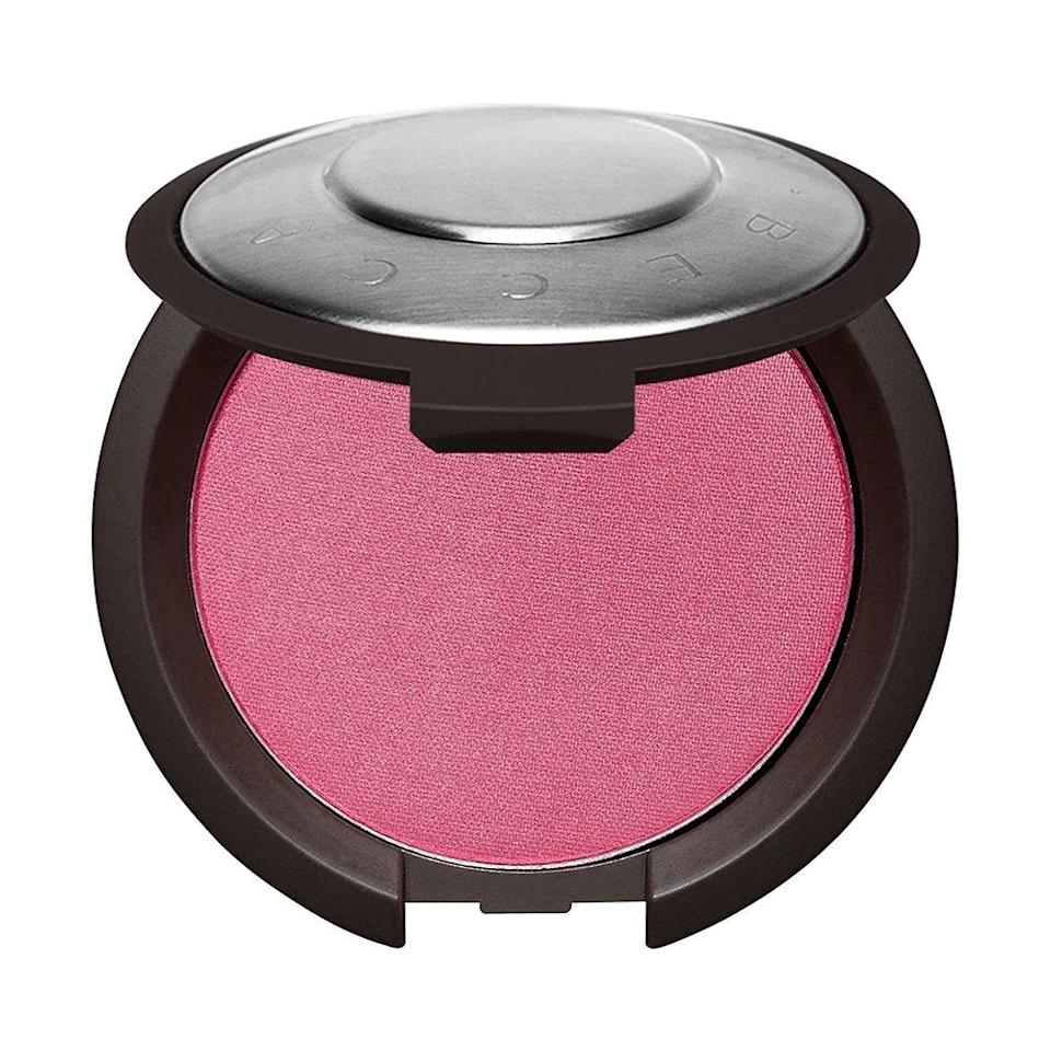 """<p><strong>Rose</strong></p> <p>Finely milled powder blushes like Becca's Mineral Blush in Hyacinth impart a soft, matte finish that doesn't look cakey or overdone. In fact, it's infused with vitamins A, C, and E to facilitate smooth application while brightening and evening out skin tone. Sweep onto the apples of your cheeks and then blend outwards toward your temples until you get the finish you want.</p> <p><strong>$32</strong> (<a href=""""https://www.beccacosmetics.com/product/22205/55519/cheeks/blush/mineral-blush/buildable-pigmented-powder-matte-finish#!/shade/Hyacinth"""" rel=""""nofollow noopener"""" target=""""_blank"""" data-ylk=""""slk:Shop Now"""" class=""""link rapid-noclick-resp"""">Shop Now</a>)</p>"""