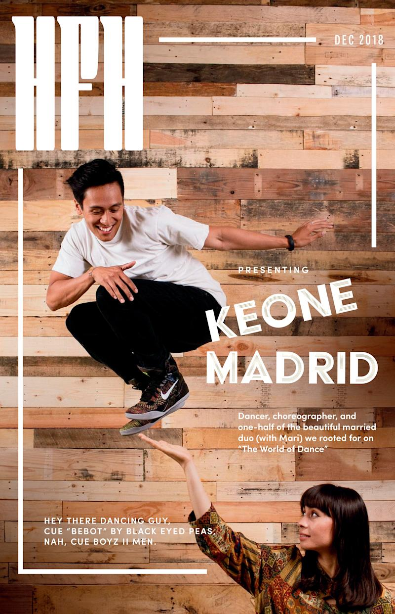 Keone Madrid.  (Photo by Leo Cabal Design by Amanda Lui)