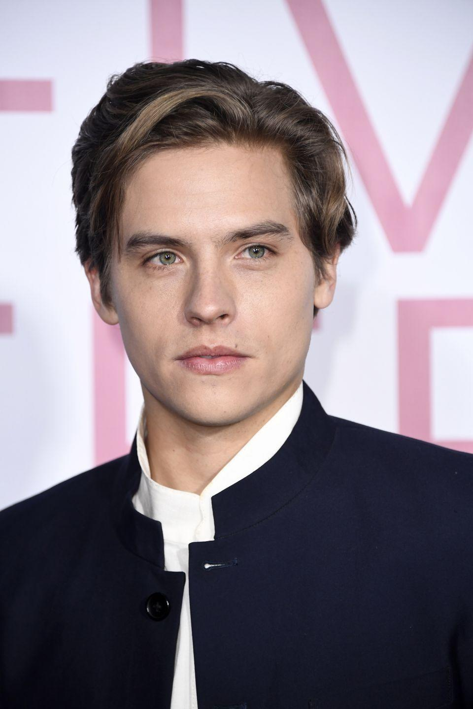 """<p>A brief Disney Channel romance that somehow went under the radar: Cyrus reportedly dated The <em>Suite Life of Zack & Cody</em> star Dylan Sprouse. He joked about the day-long romance on a 2008 episode of <a href=""""https://www.youtube.com/watch?v=_LwbhOCroXk"""" rel=""""nofollow noopener"""" target=""""_blank"""" data-ylk=""""slk:Jimmy Kimmel Live"""" class=""""link rapid-noclick-resp""""><em>Jimmy Kimmel Live</em></a>. """"We met at her set, I believe, and we dated. And then Nick Jonas walked by and it was over,"""" he remembered.</p>"""
