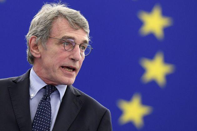 European Parliament President David Sassoli speaks during the opening of the plenary session of the European Parliament in Strasbourg, France June 7, 2021. Frederick Florin/Pool via REUTERS (Photo: POOL New via Reuters)