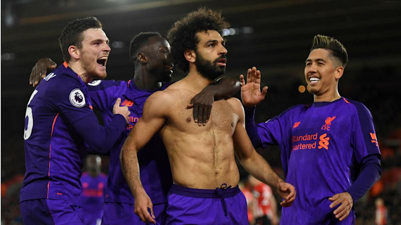 'That's the way to shut them up!' - Robertson hails Salah for 'silencing' racist Chelsea fans with wonder goal