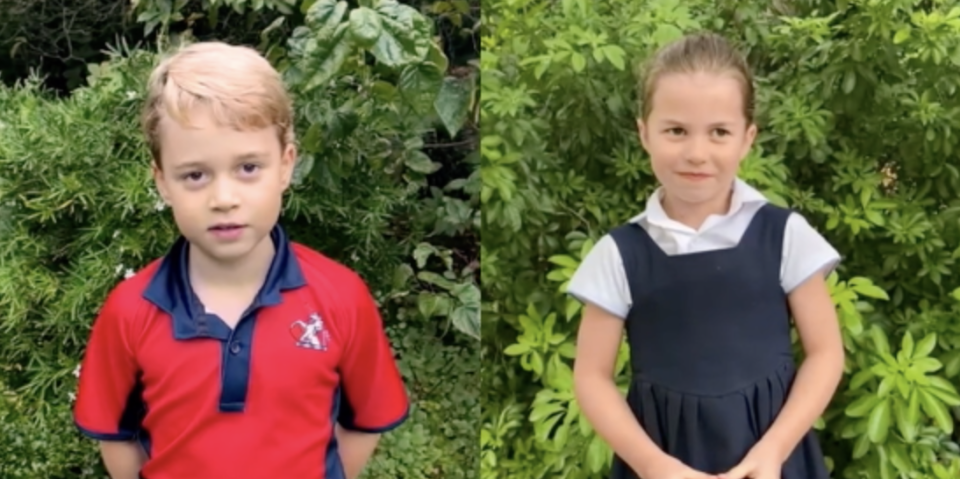 William and Kate Just Shared a Very Rare Video of the Cambridge Kids Speaking