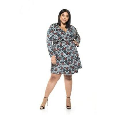 <p>You'll get tons of compliments when you slip into this <span>Alexia Admor Diana Geo Print Wrap Dress</span> ($70).</p>