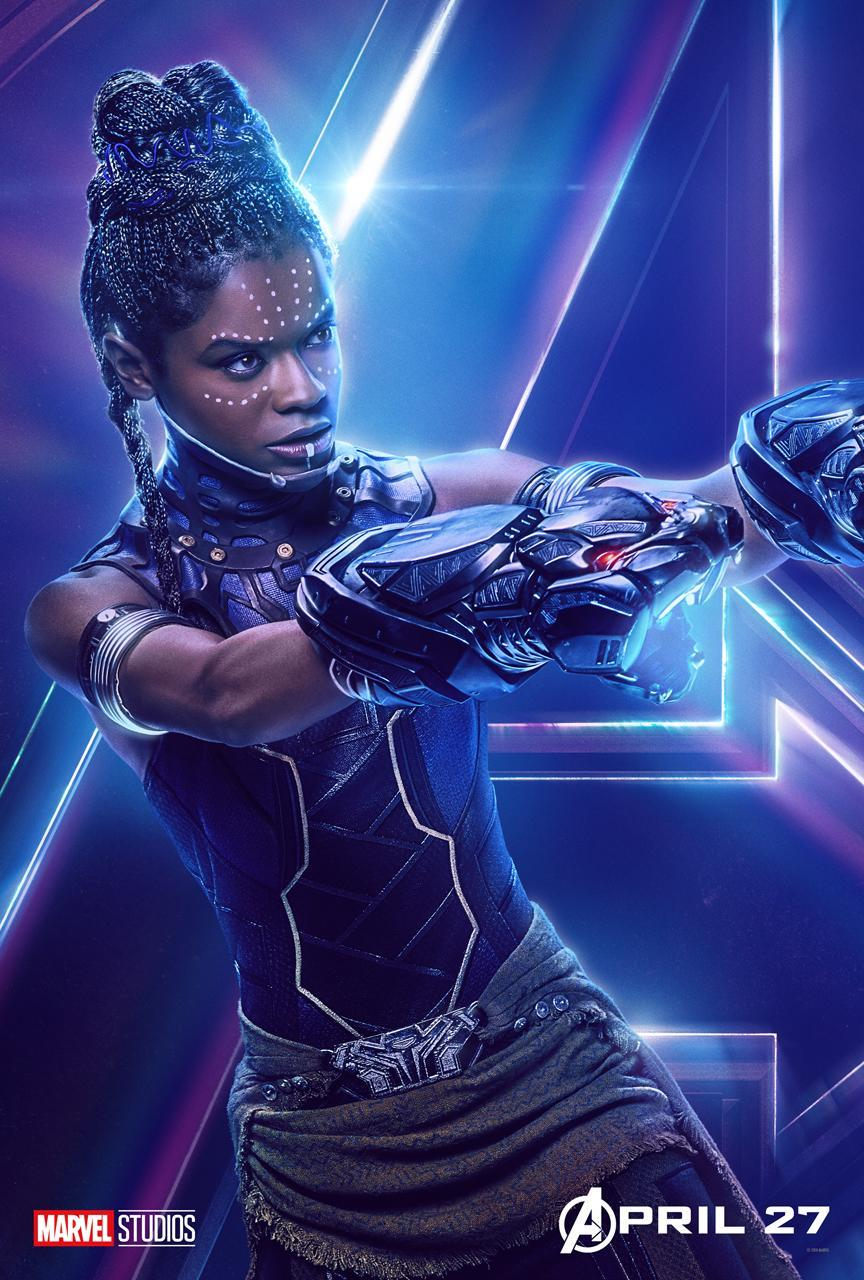 <p>Letitia Wright is T'Challa's tech-savvy genius little sister. (Photo: Marvel Studios) </p>