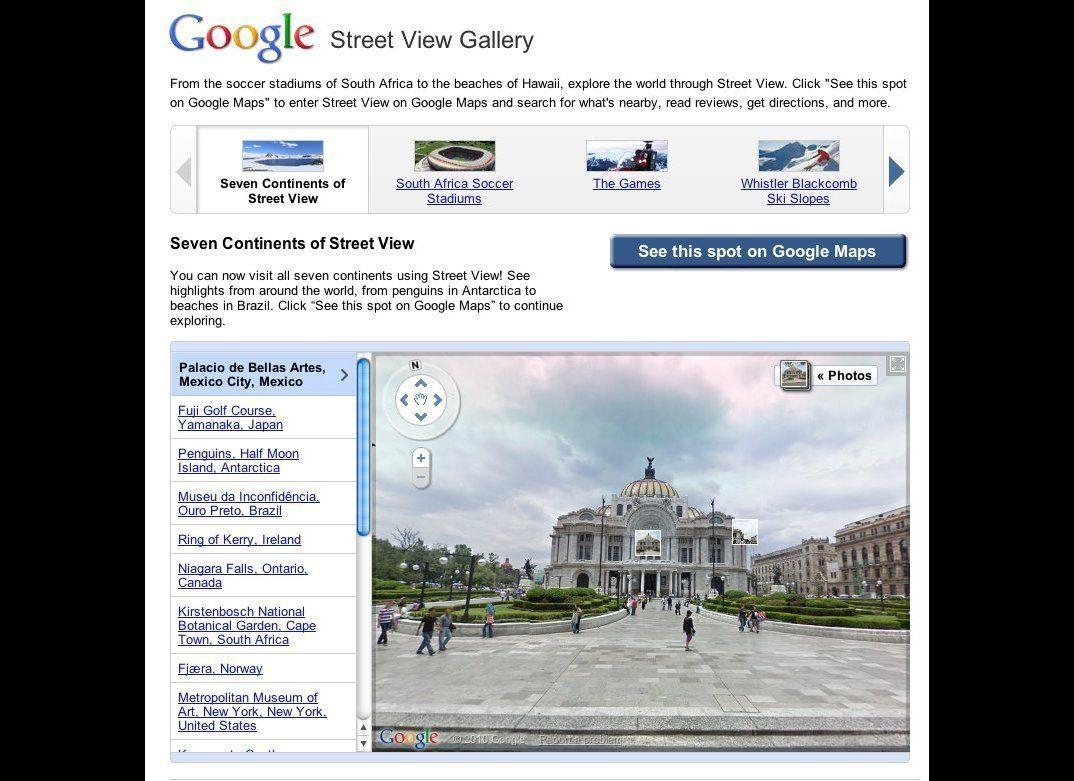 Travel The World With Google Street View