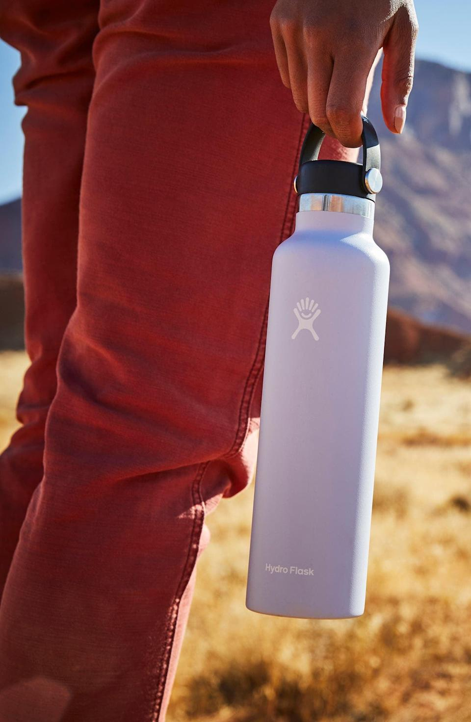 <p>Stay hydrated with this fan-favorite and trusted <span>Hydroflask 24-Ounce Standard Mouth Bottle</span> ($35).</p>
